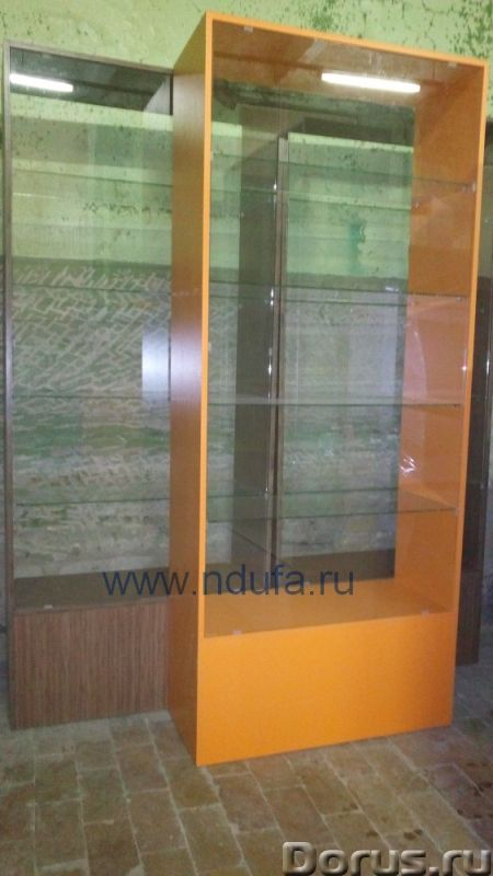 Витрины - Торговое оборудование - Продам бу витрины в отличном состоянии, возможно изготовление по в..., фото 1