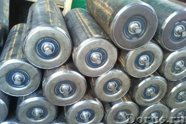 Ролики конвейерные - Промышленное оборудование - Компания реализует ролики конвейерные, барабаны, ро..., фото 1