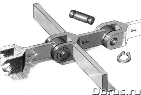Цепи тяговые вильчатые ТВ - Промышленное оборудование - Применяются в скребковых конвейерах и других..., фото 1