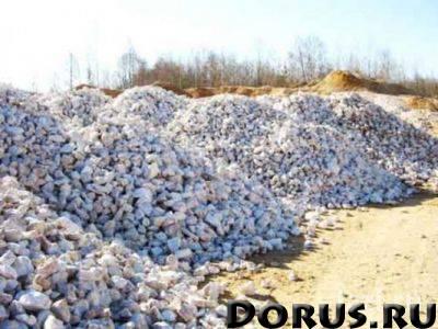 Щебень 40-70 - Щебень и песок - Щебень 40-70 прочность 800-1000, используют на подсыпку железнодорож..., фото 1