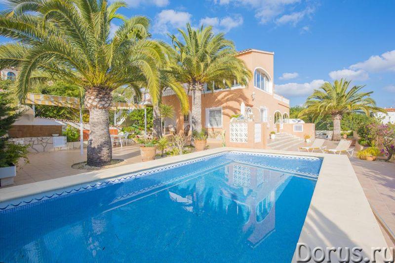 Купить красивую виллу в Испании, Кальпе - Недвижимость за рубежом - Ухоженная недорогая вилла в Испа..., фото 1