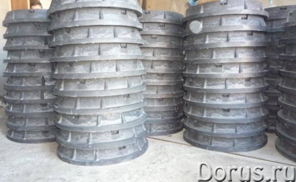 Люк полимер-песчаный канализационный 770х630 мм - Строительное оборудование - Продам люк полимер-пес..., фото 4