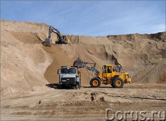 Песок с доставкой - Материалы для строительства - Песок строительный с доставкой на ваш объект. Испо..., фото 1